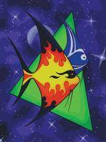 """Картина по номерам """"Рыбы"""" (500х400 мм; с флуоресцентной краской)"""