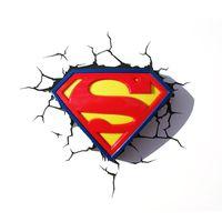 Декоративный светильник - Супермен. Логотип