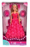 """Кукла """"Штеффи в платье с розами"""""""
