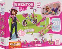 """Конструктор """"Inventor Girl. 20 моделей"""" (106 деталей)"""