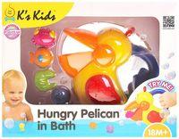 """Игрушка для купания """"Голодный пеликан"""""""