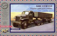 Грузовой автомобиль GMC CCW353 (масштаб: 1/72)