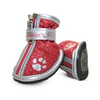 """Ботинки с """"лапками"""" (5х4х5 см; красные)"""