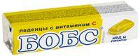 """Леденцы """"Бобс"""" (35 г; мед и лимон)"""