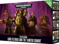 Warhammer 40.000. Death Guard. Lord Felthius & Tainted Cohort. Easy to Build (43-57)