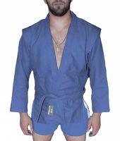 Куртка для самбо AX5 (р. 34; синяя; без подкладки)