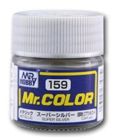 Краска Mr. Color (super silver, C159)