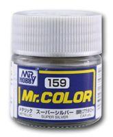 Краска Mr. Color (super silver, C159)