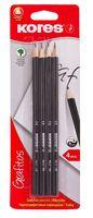 """Простые карандаши """"Grafitos"""" (4 шт в блистере, HB)"""