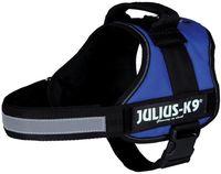"""Шлея тренировочная для собак """"Julius-K9"""" (0/M–L; 58-76 см; синяя)"""