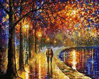 "Картина по номерам ""Пара у озера"" (400х500 мм)"