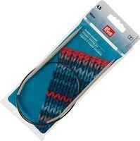 Спицы круговые для вязания (алюминий; 4,5 мм; 60 см)