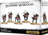 Warhammer Age of Sigmar. Daughters of Khaine. Doomfire Warlocks (85-14)