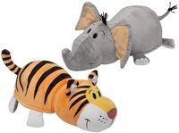"""Мягкая игрушка """"Вывернушка. Тигр-слон"""" (40 см)"""