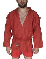 Куртка для самбо AX5 (р. 40; красная; без подкладки)