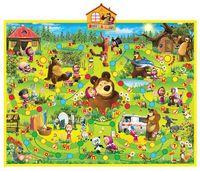 """Интерактивный плакат """"Маша и Медведь. Азбука Маши"""""""