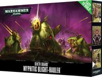 Warhammer 40.000. Death Guard. Myphitic Blight-hauler. Easy to Build (43-56)