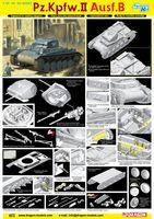 "Легкий танк ""Pz.Kpfw.II Ausf.B"" (масштаб: 1/35)"