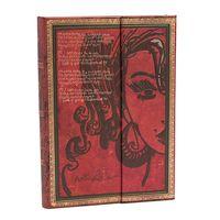 """Записная книжка в линейку """"Эми Уайнхаус. Слезы высыхают"""" (180х230 мм)"""
