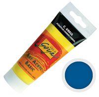 "Краска акриловая матовая ""Solo Goya Basic"" 13 (100 мл; церулеум)"