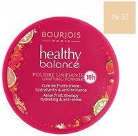 "Компактная пудра для лица ""Healthy Balance"" (тон: 53, ваниль)"