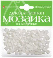 Мозаика декоративная из керамики №16 (8х8 мм; 100 шт.; белый)