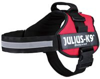 """Шлея тренировочная для собак """"Julius-K9"""" (2/L–XL; 71-96 см; красная)"""