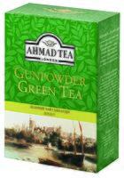 """Чай зеленый листовой """"Ahmad Tea. Ганпаудер"""" (100 г)"""