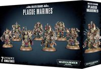 Warhammer 40.000. Death Guard. Plague Marines (43-55)