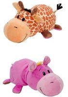 """Мягкая игрушка """"Вывернушка. Жираф-бегемот"""" (40 см)"""