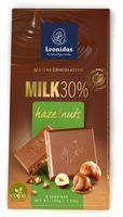 """Шоколад молочный """"Leonidas. С фундуком"""" (100 г)"""
