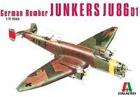 """Бомбардировщик """"Junkers Ju 86 D"""" (масштаб: 1/72)"""