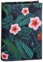 """Обложка на паспорт """"Дикие цветы"""""""