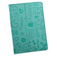 """Обложка для паспорта """"Happy Friends"""" (голубая)"""