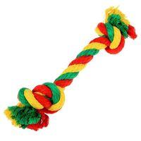 """Игрушка для собак """"Канатный грейфер. 2 узла"""" (33х1,4 см)"""