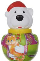 "Неваляшка малая ""Белый медведь Борис"" (коробка)"