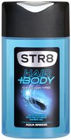 "Гель для душа 2в1 ""Str8 hair and body. Aqua breeze"" (250 мл)"