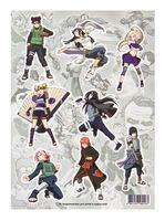 "Набор виниловых наклеек ""Naruto №3"""