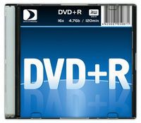 Диск DVD+R 4.7Gb 16x Data Standart slim