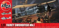 "Торпедоносец-бомбардировщик ""Fairey Swordfish Mk.1"" (масштаб: 1/72)"