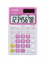 Калькулятор карманный SL-300VC (розовый; 8 разрядов)