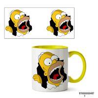 """Кружка """"Симпсоны"""" (497, желтая)"""