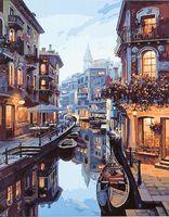"Картина по номерам ""Венецианский канал"" (400х500 мм)"