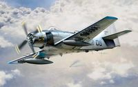 "Штурмовик ""AD-4 Skyraider"" (масштаб: 1/48)"