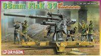 """Зенитное орудие """"88mm Flak 37 mit Behelfslafette"""" (масшаб: 1/35)"""
