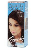 """Гель-краска для волос """"Эстель. Quality Color"""" (тон: 141, темный каштан)"""