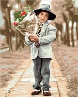 "Картина по номерам ""Цветы для мамы"" (400х500 мм)"