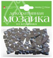 Мозаика декоративная из керамики №25 (8х8 мм; 100 шт.; черный)