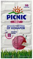 """Пластины от комаров """"Picnic Baby"""" (10 шт.)"""