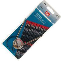Спицы круговые для вязания (латунь; 4,5 мм; 40 см)